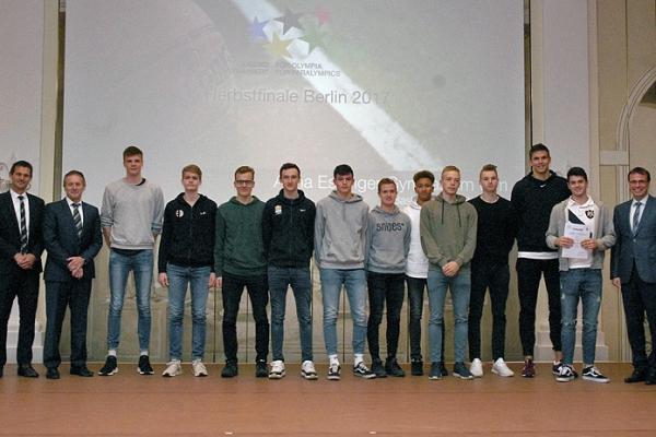 Anna Essinger Gymnasium Ulm – Basketball WK II Jungen – 1. Platz Bundesfinale