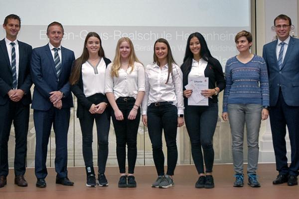 Eugen-Gaus-Realschule Heidenheim – Gerätturnen WK III/2 Mädchen – 1. Platz RMD-Cup