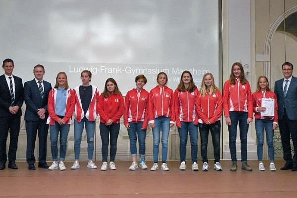Ludwig-Frank-Gymnasium Mannheim – Hockey WK III Mädchen – 3. Platz Bundesfinale