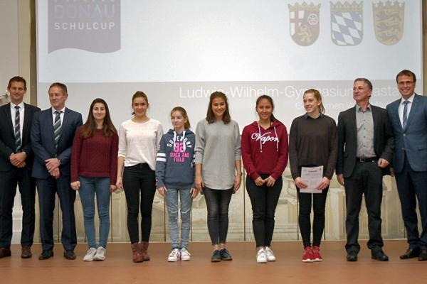 Ludwig-Wilhelm-Gymnasium Rastatt – Gerätturnen WK II Mädchen – 1. Platz RMD-Cup