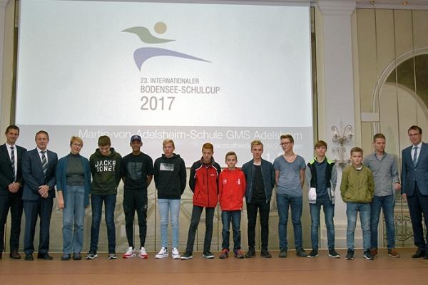 Martin-von-Adelsheim-Schule GMS Adelsheim – Leichtathletik WK IV/2 Jungen – 1. Platz IBSC