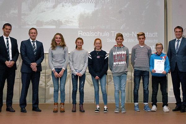 Realschule Titisee-Neustadt – Skilanglauf WK IV Gemischt – 1. Platz Bundesfinale