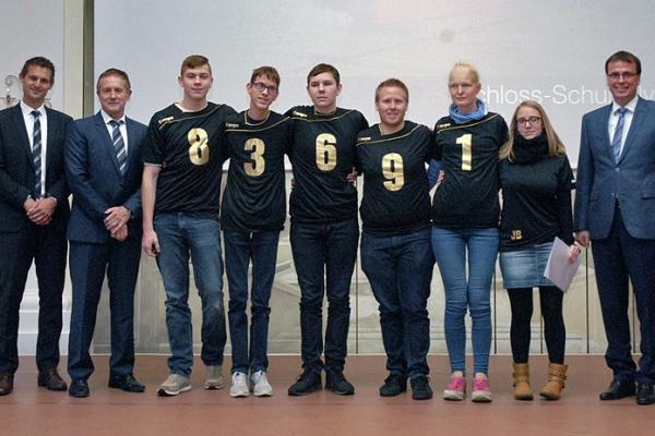 Schloss-Schule Ilvesheim – Goalball – 1. Platz Bundesfinale
