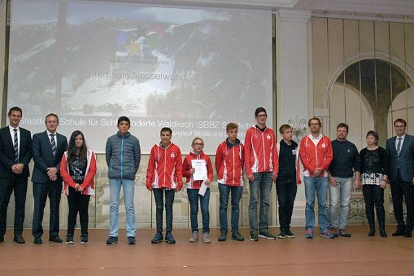 Staatliche Schule für Sehbehinderte Waldkirch – Skilanglauf Blinde und Sehbehinderte – 1. Platz Bundesfinale